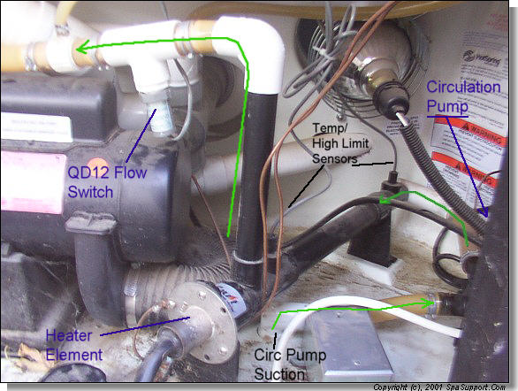 Hot Springs Spa Heater Wiring Diagram
